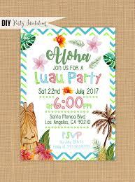 luau invitation printable luau birthday invitations