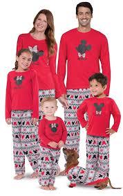 mickey mouse minnie mouse matching family pajamas pajamagram