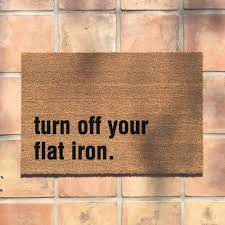 funny doormat the