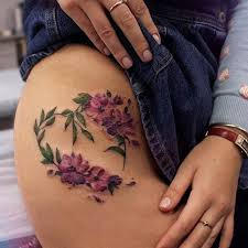 25 badass thigh ideas for flower tattoos thighs and