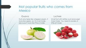 lychee fruit inside fruits vegetables spices and influences from other countries in