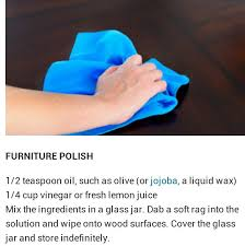 Homemade Wood Polish Cleaner 1 by The 25 Best Homemade Furniture Polish Ideas On Pinterest Green