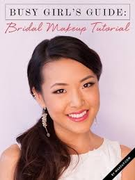 video bridal makeup tutorial