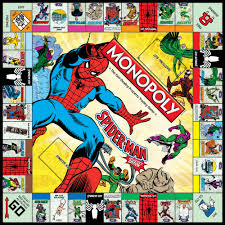 spider man collector u0027s edition monopoly board game monopoly