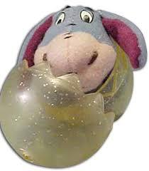winnie the pooh easter basket disney s eeyore finger puppet in easter egg puppets