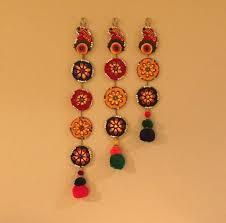 Hanging Home Decor 598 Best Toran Door Hanging Images On Pinterest Diwali Door