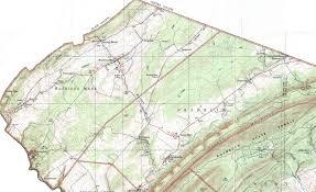 Franklin Maps Huntingdon County Pennsylvania Township Maps