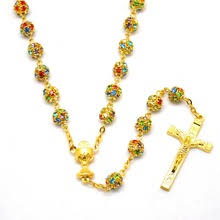 gold rosary buy gold rosary and get free shipping on aliexpress