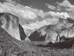 ansel adams yosemite and the range of light poster valley view summer yosemite national park ca 1935 ansel adams