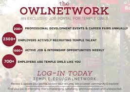 the owlnetwork career and student development u0026 special events