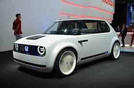 honda honda urban ev concept is a retro looking electric car built for
