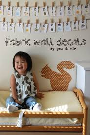 Fabric Wall Decals For Nursery Nesting With You Mie
