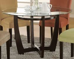 Glass Circular Dining Table Wood And Glass Dining Table Freedom To