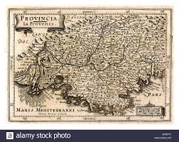 Provence Map 1600 U0027s Map Of Provence South Of France