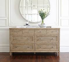 Bedroom Furniture Dresser Sausalito Wide Dresser Pottery Barn
