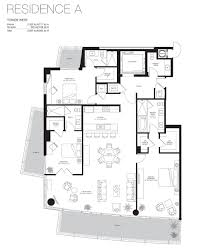 Antilla Floor Plan by Marea South Beach Miami Beach Condos For Sale And Rent Bogatov