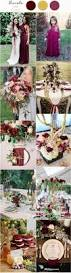 Sangria Colored Wedding Decorations 511 Best Wedding Colors U0026 Themes Images On Pinterest Colors