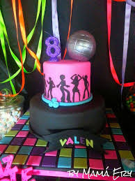 just dance party fluor fest birthday party ideas photo 4 of