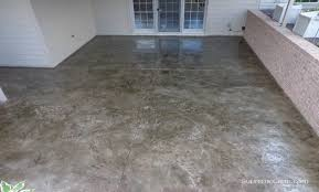 Decorative Concrete Kingdom Diy Stained Concrete The Ultimate Hard Floor