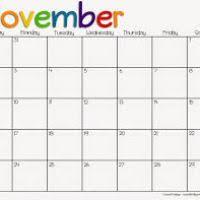 thanksgiving november calendar 2014 natashainanutshell