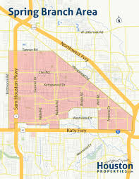 Austin Zoning Map by Spring Branch Houston Maps U0026 Neighborhood Guide By Paige Martin