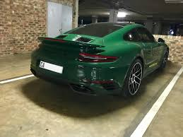 irish green porsche exoticspotsa week 35 2017