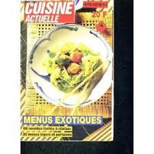 cuisine actuelle de l afrique actuelle hors serie n 5 menu exotiques 66 recettes faciles a