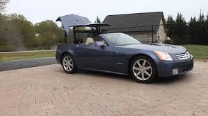 cadillac xlr top convertible