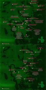 Fallout 3 Map by Fallout 4 Misc Quests Map U2013 Skillshotter Com