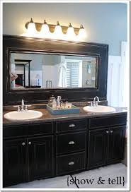 How To Frame A Large Bathroom Mirror by Bathroom Wonderful To Frame Out That Builder Basic Mirror For 20