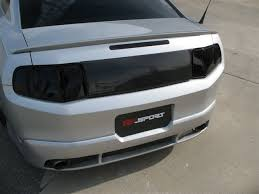 Blacked Out 2014 Mustang 2010 Mustang Rear Decklid Panels Mrbodykit Com The Most