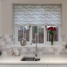 gorgeous kitchen roman blinds kitchen and decoration