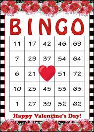 valentines bingo bingo for party ideas