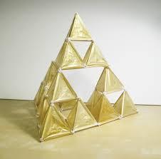 sierpiński tetrahedron fractal kite 10 steps with pictures