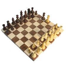 Wooden Chess Set by 14