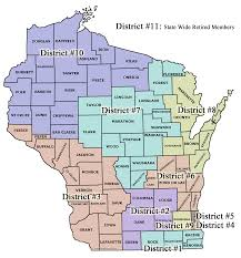 Lacrosse Wisconsin Map by Districts Wleoa