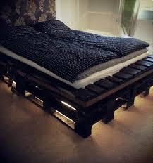 Diy Bed Frame Ideas Build Bed Frames Themselves U2013 Diy Bed Frame From Euro Pallets