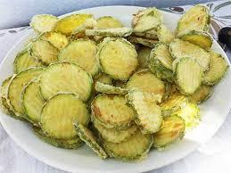 cuisine grecque recette kolokithakia tiganita tranches de courgettes frites