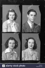 free high school yearbook pictures mcguffey high school yearbook portraits 1941 stock photo royalty