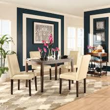 homesullivan braemar 5 piece espresso and ivory dining set 5039 48