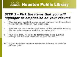 résumé writing for beginners ppt video online download