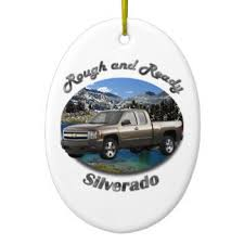 chevy truck ornaments keepsake ornaments zazzle