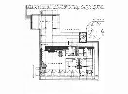 Prairie House Plans Frank Lloyd Wright U0027s Usonian Style George Sturges House To Be Sold