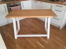 Small Computer Desk Tesco Tesco Portobello White U0026 Bleached Pine Small Dining Table Side