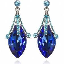 blue earrings earrings 1 polyvore