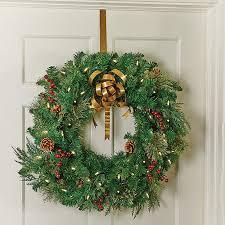 gold metal the door wreath hanger improvements