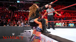 Hit The Floor Network - nia jax is hit hard with a quadruple team powerbomb wwe no mercy