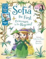 sofia princesses rescue disney books disney
