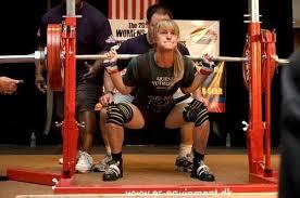World Bench Press Record Holder Jennifer Thompson 132lbs Powerlifting World Record Holder