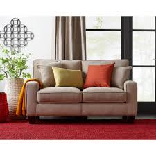 living room modern bonded leather sectional sofa small spaces